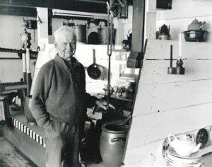 Laatste bewoner en naamgever van het Wieringer Eilandmuseum Jan Lont