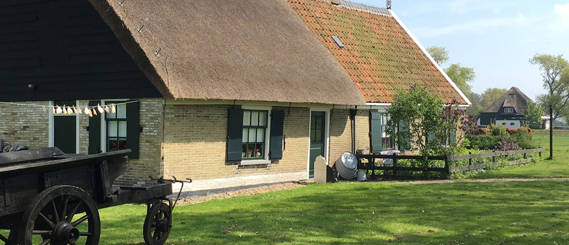 Het Wieringer Eilandmuseum Jan Lont op het mooie buurtschap Stroe