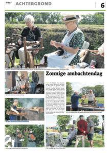 Wieringer Eilandmuseum Ambachtendag juli 2019