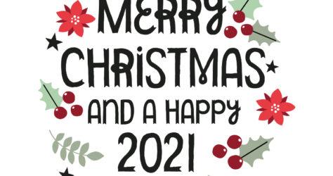 modern-kerstkaart-merry-christmas-en-hulst-blaadjes